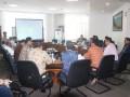 Pansus DPRD Kepri bersama BPPRD Jawa Timur membahas Ranperda tentang Retribusi dan Pajak Daerah. (foto: Humas DPRD Kepri)