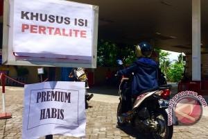 Persediaan Premium di SPBU Tanjungpinang Dikurangi