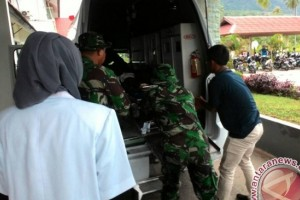 Korban PPRC Natuna Dikawal Ketat TNI AD