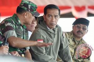 Presiden Bangga dengan Soliditas TNI