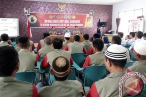 UPP Sosialisasi Bebas Pungli di Rutan Karimun