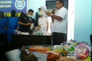 BNN Kepri Musnahkan 24,574 Kilogram Sabu