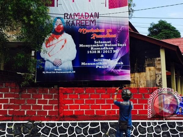 Pencoret Wajah Pejabat di Baliho Kembali Beraksi