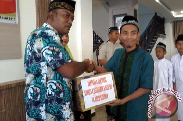 Brimob Karimun Berbagi Keberkahan Ramadhan dengan Santri