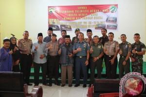 Kodim Karimun Rayakan HUT TNI dengan MTQ