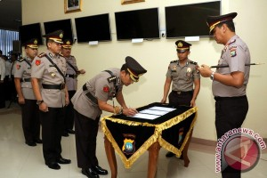 Kapolda Kepri Pimpin Sertijab Dua Pejabat Utama