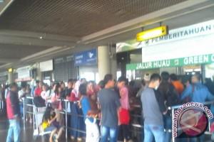 Jumlah Pemudik Bandara Hang Nadim Mulai Berkurang