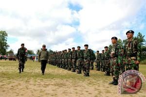 Kodim Bintan Kerahkan 180 Prajurit Ikuti TMMD ke-99