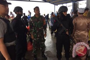 Brimob Karimun Perketat Pengamanan Pelabuhan