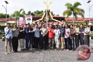 Polres Tanjungpinang Jalin Kemitraan dengan Jurnalis