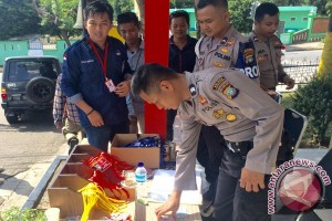Pengamanan Mapolres Tanjungpinang Diperketat