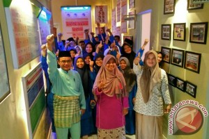 KPU Lingga Kenalkan Rumah Pintar Pemilih ke Pelajar