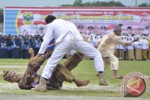 Drama Sultan Mahmud Tampil di Apel HUT RI