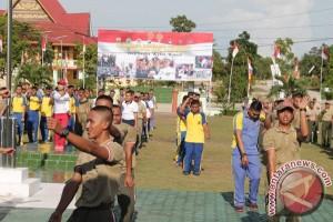TNI-Polri di Karimun Perkuat Kebersamaan Lewat Senam