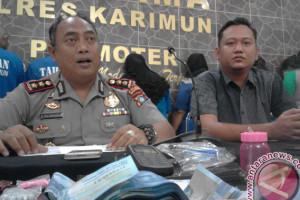 Polres Karimun Bekuk Tersangka Bandar Narkoba Malaysia