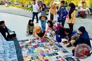 Mahasiswa Tanjungpinang Dirikan Perpustakaan Jalanan