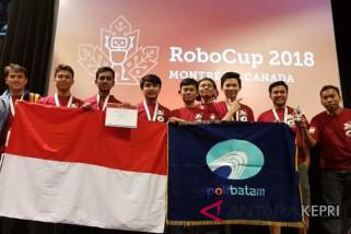 Tim Robotika Indonesia raih prestasi Robocup 2018