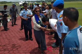 Menteri Susi berkunjung ke Natuna