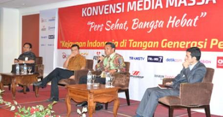 Sesi Konvensi Media/Taufan Razzak