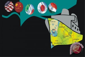 Ekspor Lampung turun pada Januari