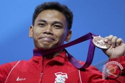 Olimpiade 2016 : Atlet angkat besi digenjot di Brazil