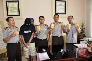 Pesta sabu,  polisi tangkap sejumlah mahasiswa