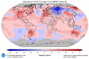 DNPI: Suhu Bumi Naik 0,8 Derajat Celcius