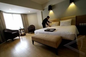 Tingkat Hunian Hotel Bandarlampung Turun