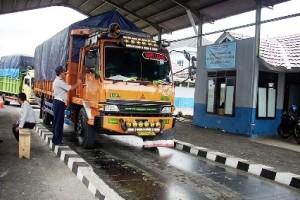 Jembatan Timbang Lampung selatan Beroperasi Kembali