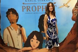 "Salma Hayek Gali Akar Lebanonnya via ""The Prophet"""