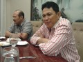 Kapolda Lampung Brigjen Edward Syah Pernong (kanan) menyebutkan pihaknya akan fokus melakukan pengamanan, terutama saat berlangsungnya arus mudik dan arus balik pemudik. (Antara/Hisar Sitanggang)