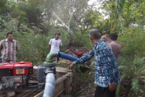 Pemkab Lampung Utara Bantu petani pompa air