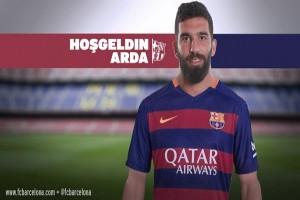 Arda Turan jadi pemain Barcelona