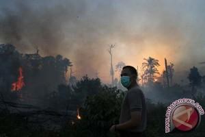Pemda Riau hambur-hamburkan anggaran penanganan kebakaran