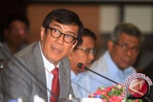Menkumham : Tidak ada rencaana revisi UU KPK