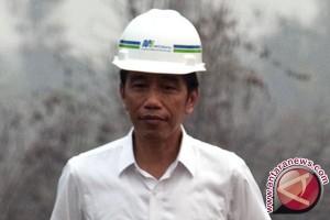 Presiden sebut pertumbuhan ekonomi terkoreksi gara-gara asap