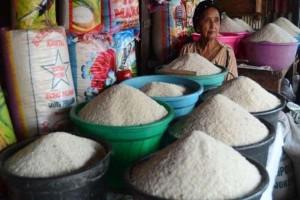 Meski musim hujan, pasokan beras lancar