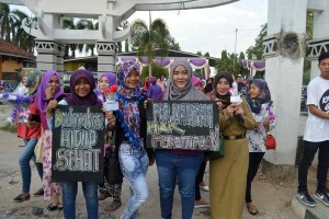 Kampanye Lawan Kekerasan terhadap Perempuan di Lampung