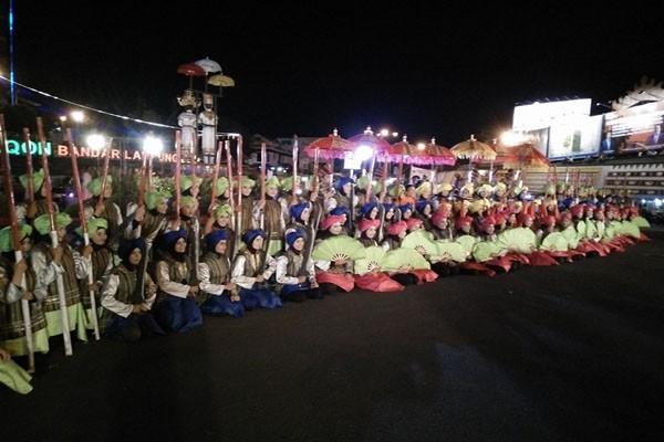 Ratusan Penari Tampil di Area Publik Bandarlampung