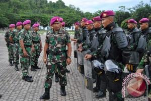 362 tamtama remaja marinir sandang Baret Ungu
