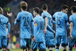 Messi telah cetak 100 gol di kompetisi Eropa