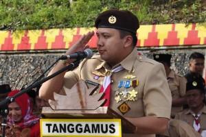 Gubernur Lampung nyatakan Pramuka sebagai penjaga Pancasila