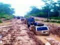 Jalan rusak parah di Mesuji