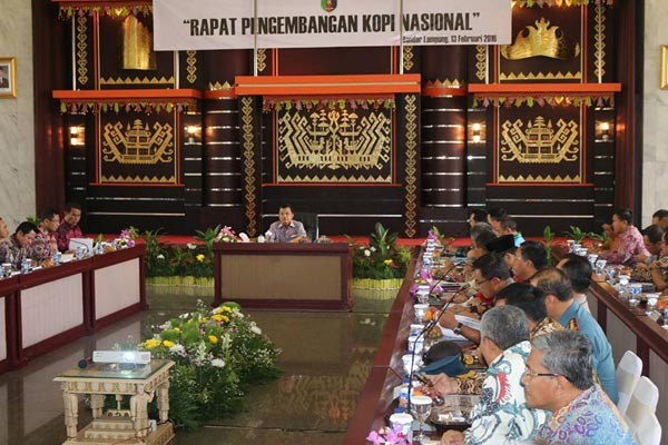 Wapres Minta Produksi Kopi Lampung Ditingkatkan