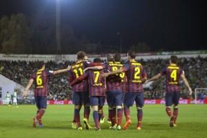 Barca unggul tiga angka di puncak klasemen Liga Spanyol