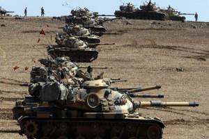Turki bom posisi Kurdi, 50 tewas