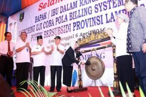 Lampung Uji Coba Distribusi Pupuk Sistem Billing
