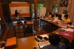 LSM Damar Ikuti Pelatihan TIK untuk Perdamaian