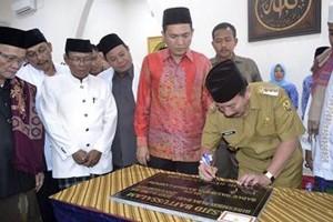 Wali Kota Bandarlampung Resmikan Masjid Baitussalam