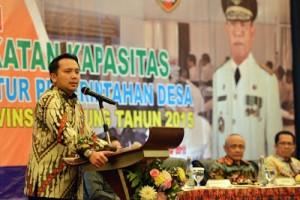 Berharap Dana Desa Angkat Kesejahteraan Rakyat